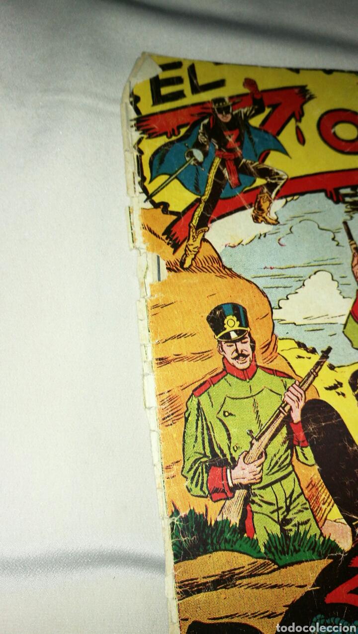 Tebeos: Lote de cinco tebeos comics el zorro de ferma . Original años 50 numero 4 , 6 , 7 , 15 y 17 leer - Foto 7 - 74931089