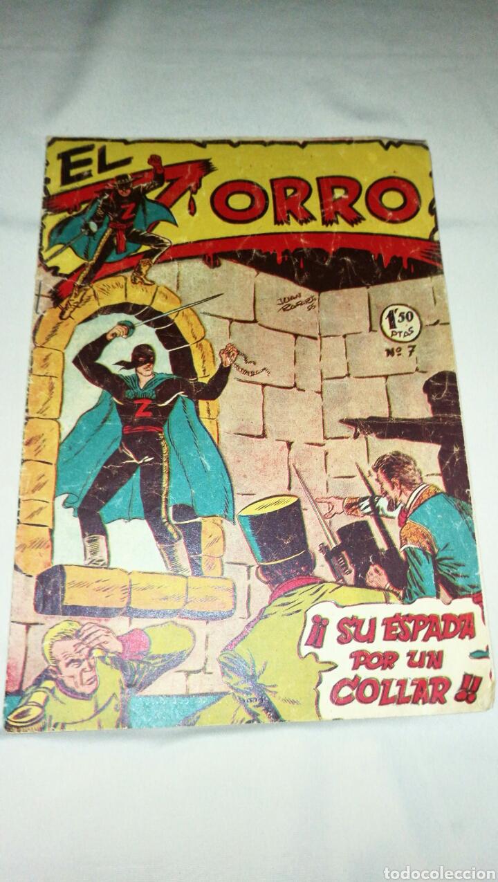 Tebeos: Lote de cinco tebeos comics el zorro de ferma . Original años 50 numero 4 , 6 , 7 , 15 y 17 leer - Foto 8 - 74931089