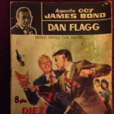 Tebeos: TEBEO.1965,- DAN FLAGG-AGENTE 007,JAMES BOND