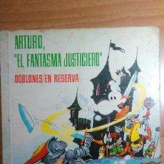 Tebeos: ARTURO EL FANTASMA JUSTICIERO.DOBLONES EN RESERVA. CEZARD. FERMA. Lote 76827475