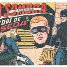 Tebeos: LA SOMBRA JUSTICIERA Nº 16 ORIGINAL FERMA 1954 . Lote 77554465