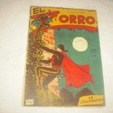 Tebeos: EL ZORRO N° 12 . FERMA , ORIGINAL . LA CONSPIRACION ;. Lote 79131033