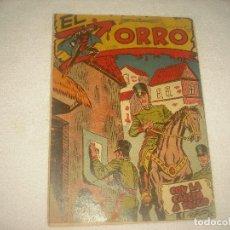 EL ZORRO N° 3 . FERMA , ORIGINAL . CON LA CABEZA A PRECIO ;
