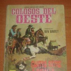 Tebeos: COLOSOS DEL OESTE. CUATRO RATAS A CABALLO. EDITORIAL FERMA. Nº 91.. Lote 83713084