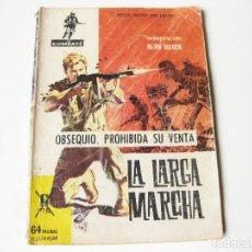 Tebeos: RARO COMIC OBSEQUIO DE LA COLECCION COMBATE - LA LARGA MARCHA - EDITORIAL FERMA 1962 - NUMERO 75. Lote 83806468