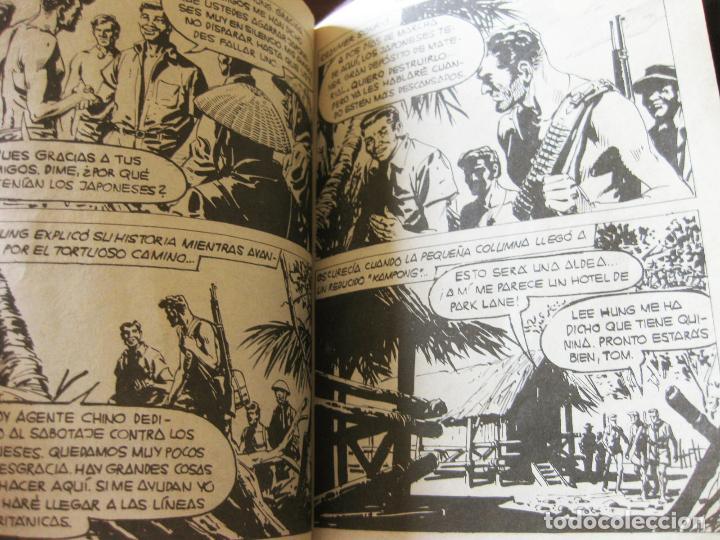 Tebeos: RARO COMIC OBSEQUIO DE LA COLECCION COMBATE - LA LARGA MARCHA - EDITORIAL FERMA 1962 - NUMERO 75 - Foto 2 - 83806468