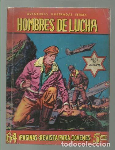 HOMBRES DE LUCHA 77, 1959, BUEN ESTADO (Tebeos y Comics - Ferma - Aventuras Ilustradas)