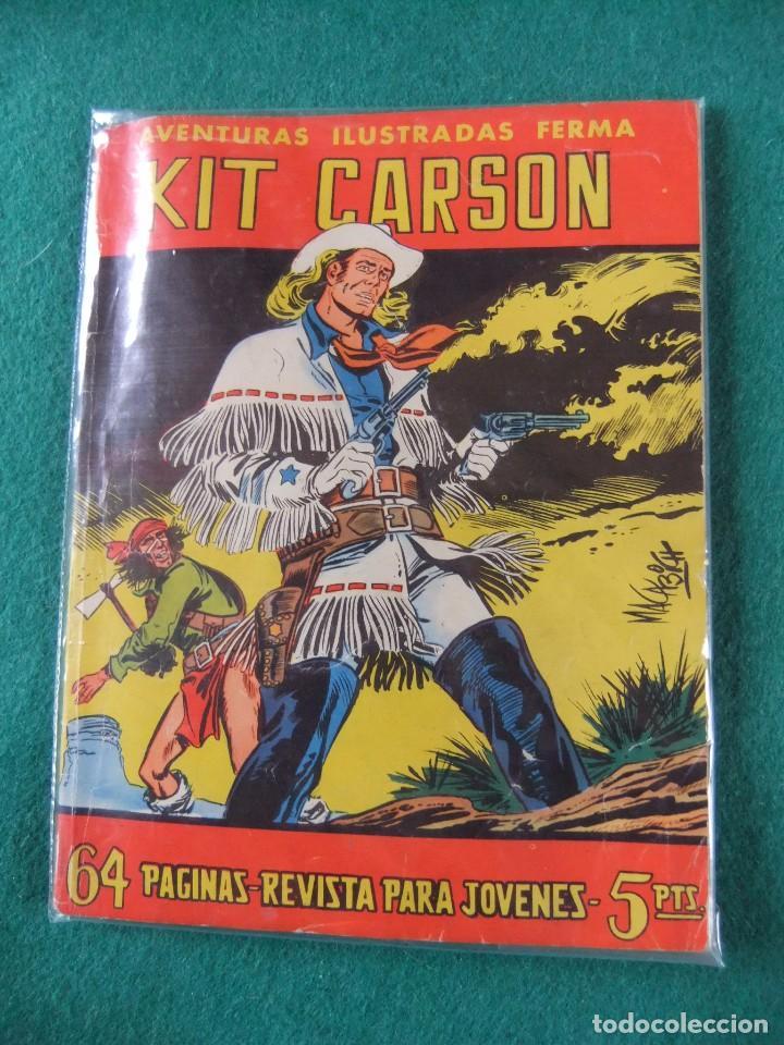 AVENTURAS ILUSTRADAS FERMA Nº 30 KIT CARSON (Tebeos y Comics - Ferma - Aventuras Ilustradas)