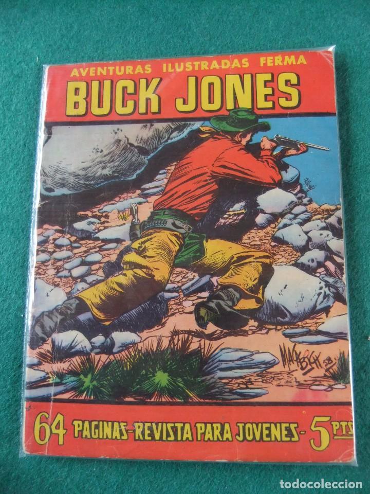 AVENTURAS ILUSTRADAS FERMA Nº 37 BUCK JONES (Tebeos y Comics - Ferma - Aventuras Ilustradas)