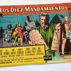 Tebeos: LOT110 COMIC ORIGINAL LOS DIEZ MANDAMIENTOS - ELEMPLAR MONOGRÁFICO LA PELICULA EDITORIAL FERMA 1959. Lote 84638756