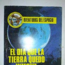 Tebeos: MINI INFINITUM-AVENTURAS DEL ESPACIO- Nº 26 -EL DIA QUE LA TIERRA QUEDÓ INMOVIL-1981-DIFÍCIL- 9402. Lote 133833993
