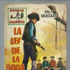 BDs: SENDAS SALVAJES 4: LA LEY DE LA SOGA, 1962, BUEN ESTADO.. Lote 85116956