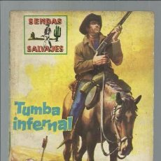 BDs: SENDAS SALVAJES 7: TUMBA INFERNAL, 1962, FERMA, BUEN ESTADO.. Lote 85117156