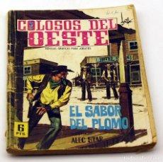 Tebeos: COLOSOS DEL OESTE - FERMA - EL SABOR DEL PLOMO - NUMERO 96 - ORIGINAL. Lote 85553684