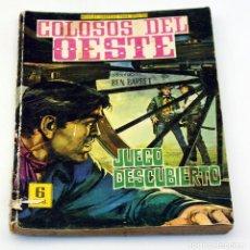 Tebeos: COLOSOS DEL OESTE - FERMA - JUEGO DESCUBIERTO - NUMERO 81 - ORIGINAL . Lote 85553832