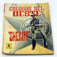 Tebeos: COLOSOS DEL OESTE - FERMA - SHERIFF - NUMERO 51 - ORIGINAL . Lote 85553952