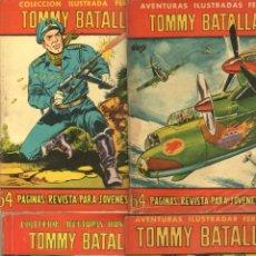 Tebeos: AVENTURAS ILUSTRADAS FERMA 1958 - TOMMY BATALLA - NºS - 6,19,31,49. Lote 85732968