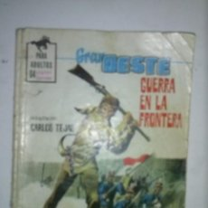 Tebeos: GRAN OESTE-Nº 390-1967-GUERRA EN LA FRONTERA-GRAN E. BRADBURY-MUY RARO-ÚNICO EN TODOCOLECCIÓN- 6462. Lote 86879844