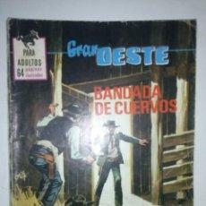 Tebeos: GRAN OESTE-Nº 394-1968-BANDADA DE CUERVOS-GRAN JORGE MACABICH-MARVEL WESTERN-ÚNICO EN TC-6463. Lote 87001691