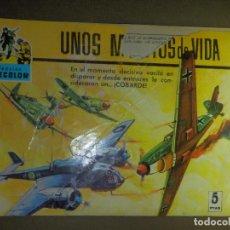 Tebeos: COMIC - TEBEO - CINECOLOR - UNOS MINUTOS DE VIDA - FERMA - COLECCION COMBATE - Nº 31 - 1969. Lote 87047748