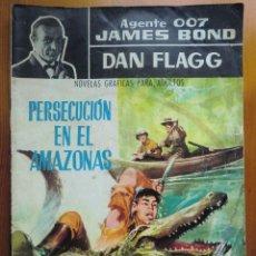 Tebeos: COMIC AGENTE 007 JAMES BOND, DAN FLAGG: PERSECUCIÓN EN EL AMAZONAS (1.966) DE EDITORIAL FERMA. Lote 87190720