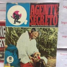 Tebeos: AGENTE SECRETO - UN MALDITO JUEGO DE TRAIDORES - NUMERO 23 - EDITORIAL FERMA. Lote 87358435