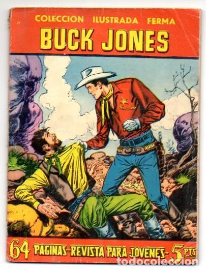 AVENTURAS ILUSTRADAS FERMA. Nº 51. BUCK JONES (Tebeos y Comics - Ferma - Aventuras Ilustradas)