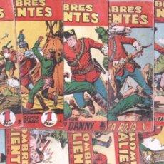 Tebeos: HOMBRES VALIENTES, DICK DARING - LOTE NºS - 2,3,4,5,8,16,18,20,24 ORIGINALES EDI. FERMA 1958. Lote 87586060