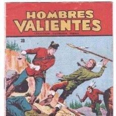 Tebeos: HOMBRES VALIENTES - DICK DARING Nº 28 - ÚLTIMO DE LA COLECCIÓN - ORIGINAL EDITORIAL FERMA 1958. Lote 87586364