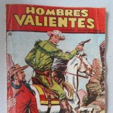 Tebeos: COMIC HOMBRES VALIENTES - Nº12 - HONDO - LA JUSTICIA TRIUNFA - COLECCION FERMA -12 X 17 CM.. R-6178. Lote 87745952