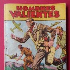 Tebeos: COMIC HOMBRES VALIENTES, Nº13 -TOMMY BATALLA -BUCANEROS BIRMANOS- COLECCION FERMA-12 X 17 CM. R-6179. Lote 88095828