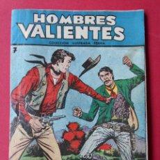 Tebeos: COMIC HOMBRES VALIENTES, Nº 7 - JESSE JAMES - LA FUGA - COLECCION FERMA -12 X 17 CM... R-6180. Lote 88097404