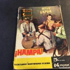 Tebeos: AGENTE SECRETO Nº 2. HAMPA. (ED. FERMA) (C5). Lote 89010088
