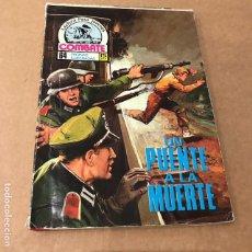 Tebeos: COMBATE Nº 63 - PRODUCCIONES EDITORIALES - 1975. Lote 89450572