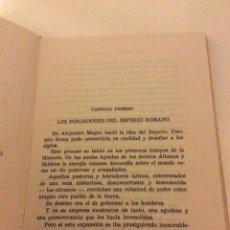 Tebeos: GRANDES JEFES ROMANOS J REPOLLES EDITORIAL FERMA 1963 PORTADA CHACO ILUSTRACIONES TELLO. Lote 89682838