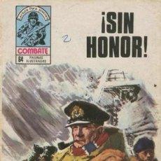 Tebeos: COMBATE-NOVELA GRÁFICA- Nº 205-¡SIN HONOR!-GRAN JOSÉ ORTIZ-1980-RARO-ESCASO-BUEN ESTADO-6637. Lote 89750340