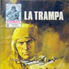 Tebeos: COMBATE-NOVELA GRÁFICA- Nº 251 -LA TRAMPA-1981-EMOCIONANTE-MUY DIFÍCIL-FLAMANTE-6643. Lote 89760980