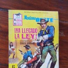 Tebeos: ¡HA LLEGADO LA LEY! , Nº 238 - EDITORIAL FERMA 1962- NOVELAS GRÁFICAS DEL OESTE. Lote 90618350