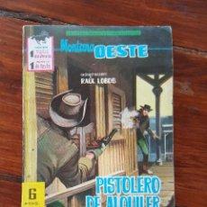 Tebeos: PISTOLERO DE ALQUILER , Nº 240 - EDITORIAL FERMA 1962- NOVELAS GRÁFICAS DEL OESTE. Lote 90620840