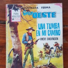 Tebeos: UNA TUMBA EN MI CAMINO , Nº 293 - EDITORIAL FERMA 1962- NOVELAS GRÁFICAS DEL OESTE. Lote 90621185