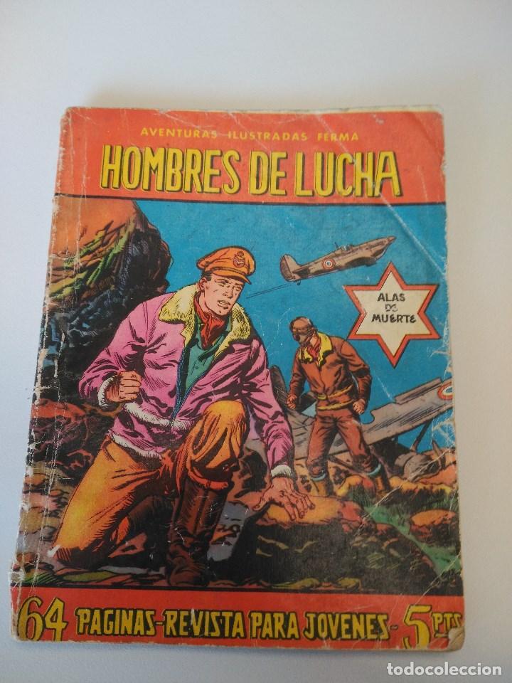 COLECCIÓN AVENTURAS ILUSTRADAS FERMA. HOMBRE EN LUCHA, Nº 77. 1958-64. (Tebeos y Comics - Ferma - Aventuras Ilustradas)