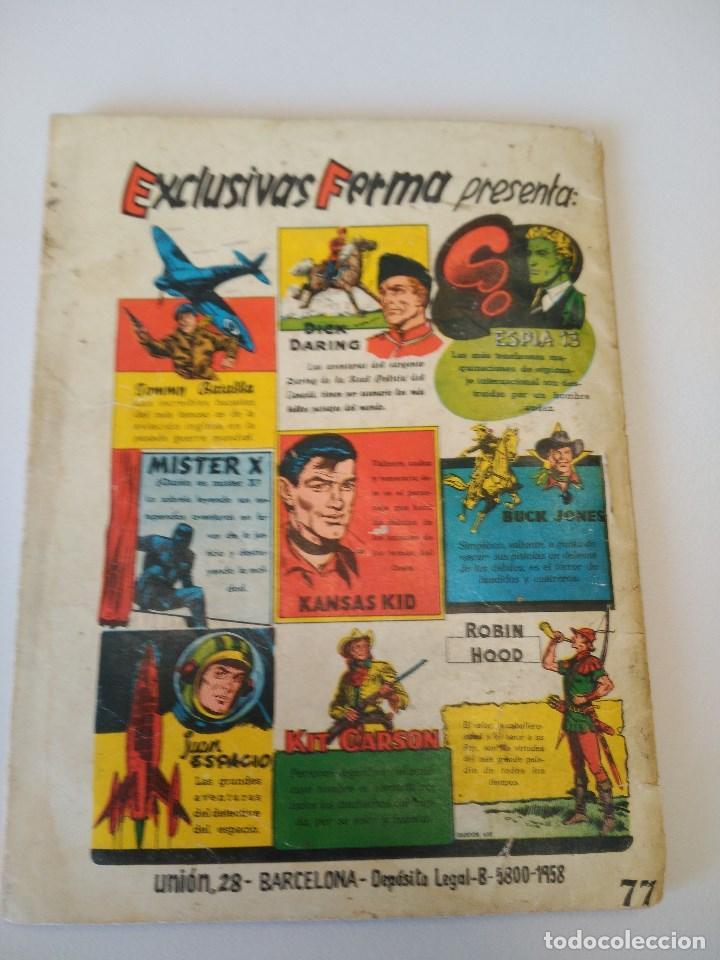 Tebeos: Colección Aventuras ilustradas FERMA. Hombre en lucha, nº 77. 1958-64. - Foto 4 - 90648745