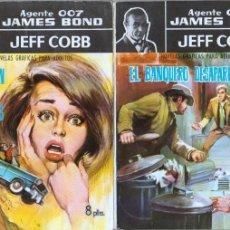 Tebeos: AGENTE 007 - JAMES BOND -. JEFF COBB Nº 2 Y 3 MUY NUEVOS. Lote 92752585