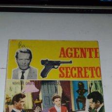 Tebeos: AGENTE SECRETO. SOLO SONRIEN LOS VIVOS. 1966 BARCELONA. ED.: FERMA. Lote 92897800