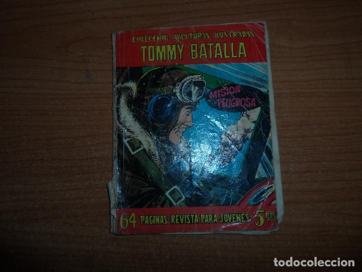 AVENTURAS ILUSTRADAS FERMA Nº 6 TOMMY BATALLA EDITORIAL FERMA (Tebeos y Comics - Ferma - Aventuras Ilustradas)