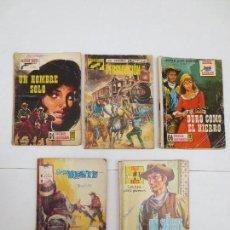 Tebeos: 5 COMICS - SERIE OESTE - GRAN OESTE - SALVAJE OESTE - SENDAS SALVAJES .. Lote 94465714