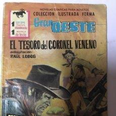 Tebeos: GRAN OESTE- EL TESORO DEL CORONEL VENENO. Lote 96587442