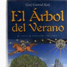 Tebeos: EL ARBOL DEL VERANO - FUEGO ERRANTE Y SENDERO DE TINIEBLAS - COLECCION COMPLETA DE TRES LIBROS DE GU. Lote 96671335
