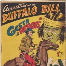 Tebeos: AVENTURAS DE BUFFALO BILL Nº 38. FERMA 1955. ESCASO... Lote 97078891