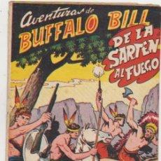 Tebeos: AVENTURAS DE BUFFALO BILL Nº 11. FERMA 1955.. Lote 97080939